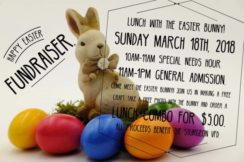 Sturgeon VFD Lunch w/ Easter Bunny Event Informatio