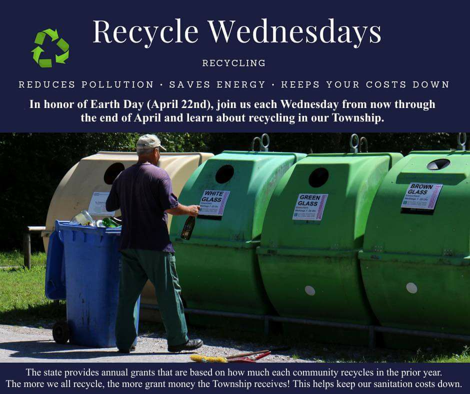 Recycle Wednesdays
