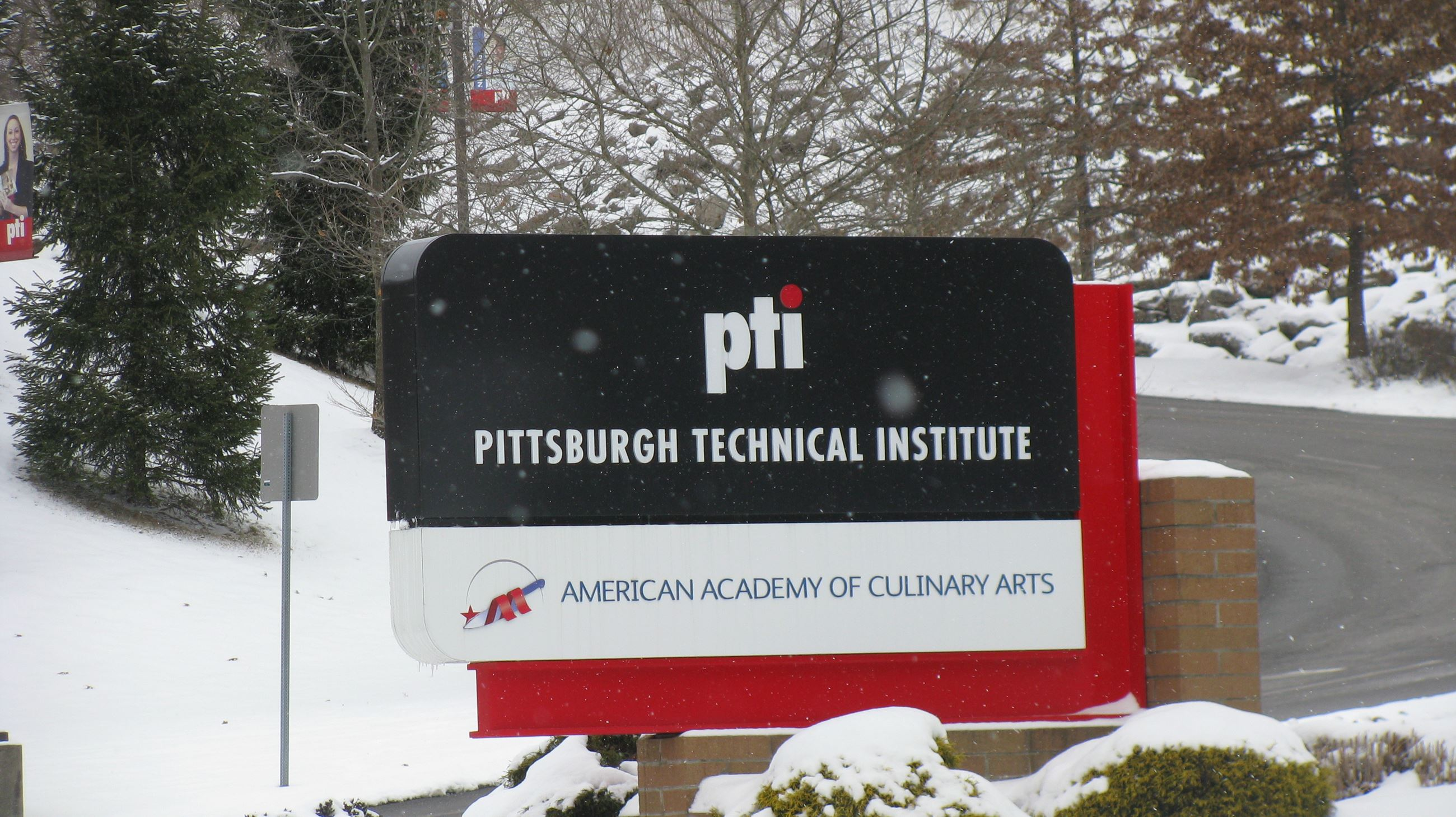 Pittsburgh Technical Institute Sign