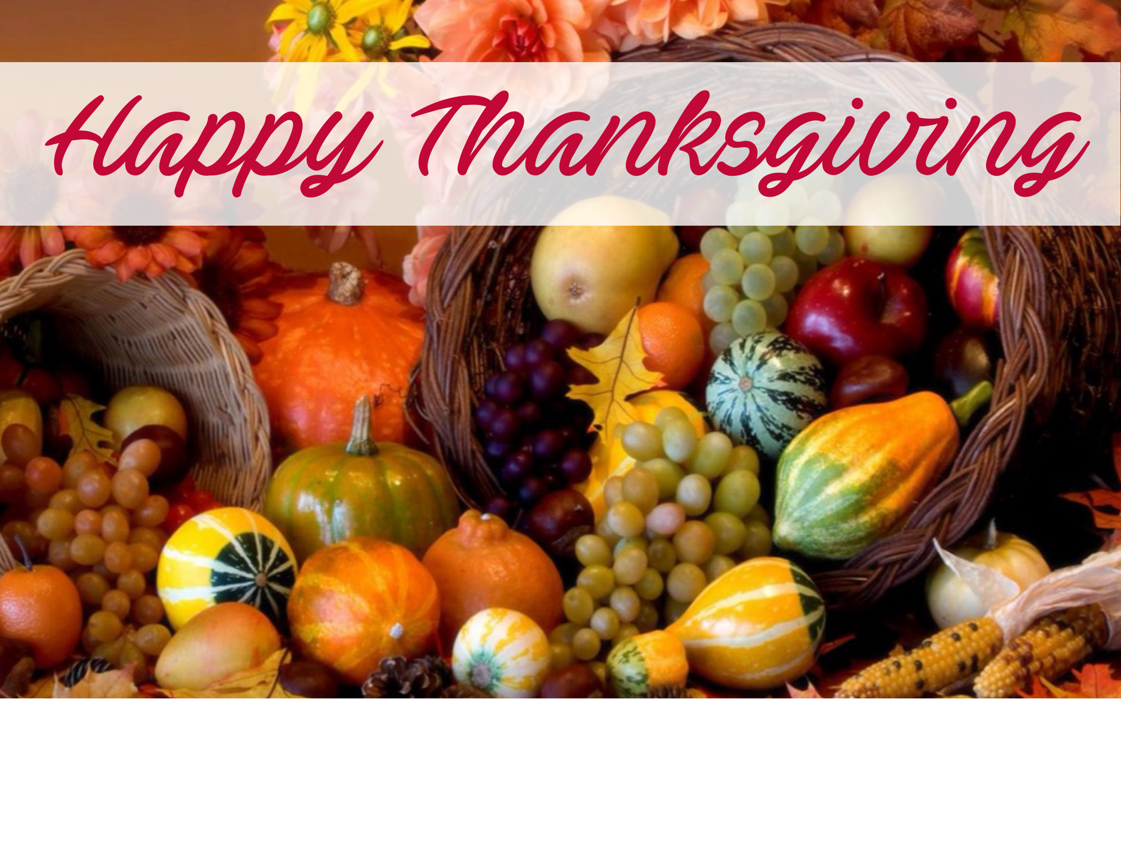 North Fayette Township Thanksgiving Office Closures 2018