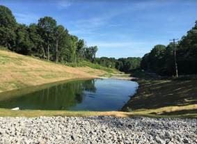 Photo of Milk Run Water Treatment Area in North Fayette Township