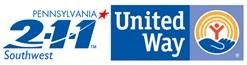 Logo for the United Way PA 211 Disaster Hotline Service