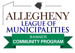 Allegheny League of Municipalities Banner Community Program Logo 2021