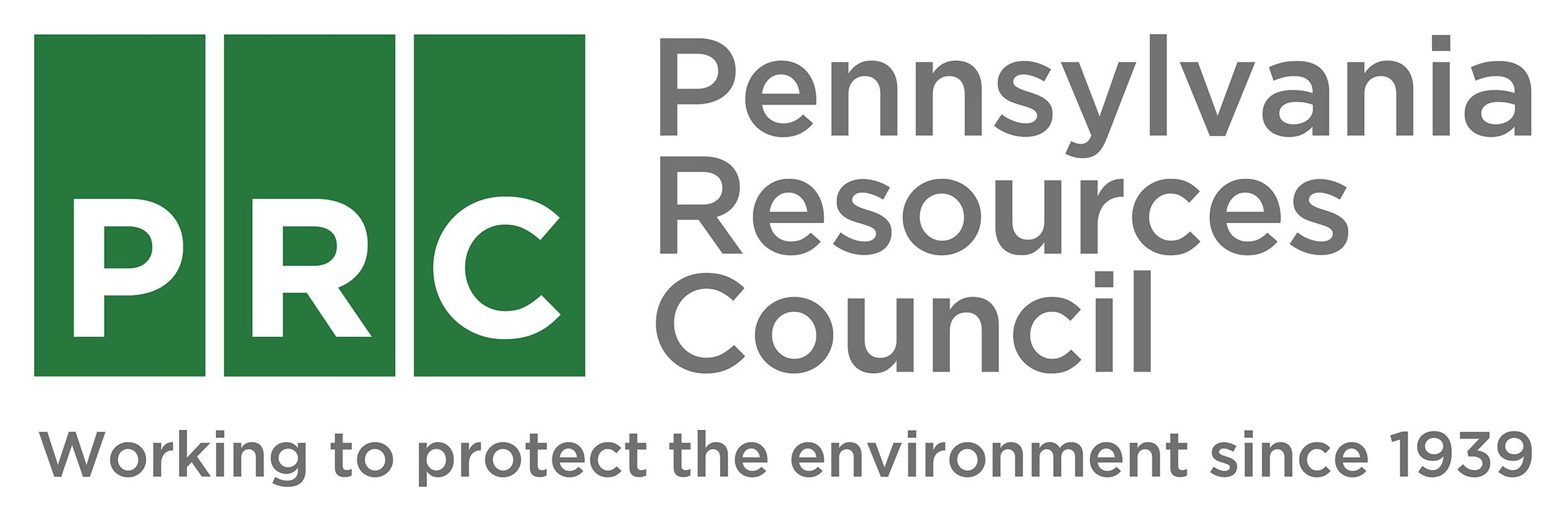 PRC Logo with the letters PRC and the words Pennsylvania Resources Council