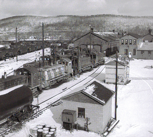 Historical Picture of the Montour Railroad