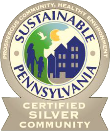 Sustainable PA Certified Silver Badge