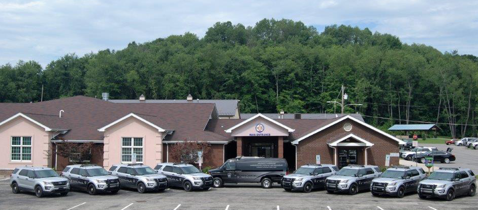 Photo of Police cars in front of Township Building
