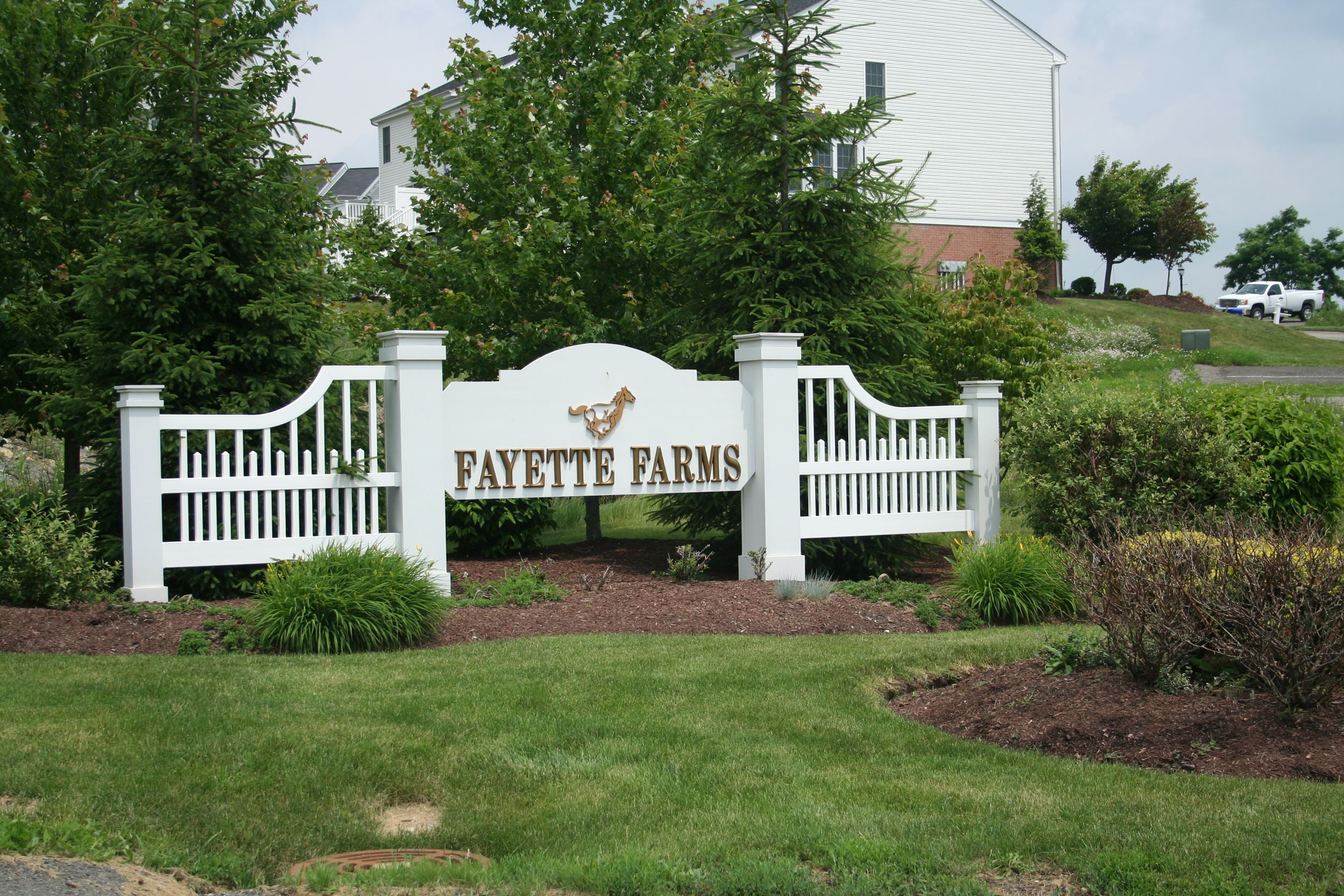 Fayette Farms Sign